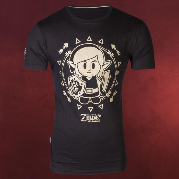 Zelda - Link's Awakening Tribal T-Shirt schwarz