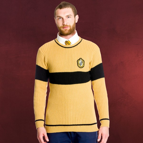 Harry Potter - Quidditch Sweater Hufflepuff