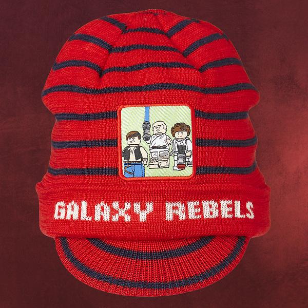 LEGO Star Wars - Galaxy Rebels Schild Mütze Kinder rot
