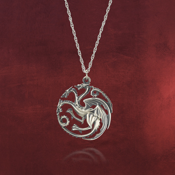 Game of Thrones - Targaryen Wappen Kette