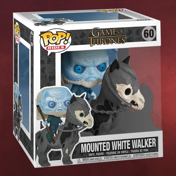 Game of Thrones - White Walker auf Pferd Funko Pop Figur