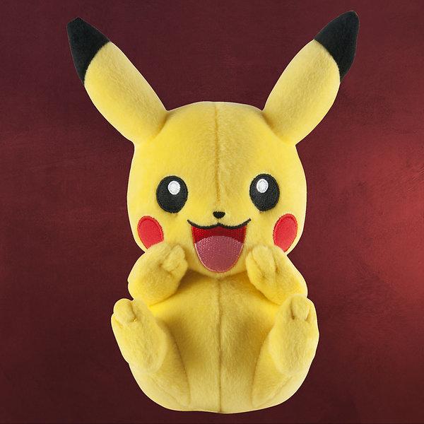Pokemon - Happy Pikachu Plüsch Figur 20 cm