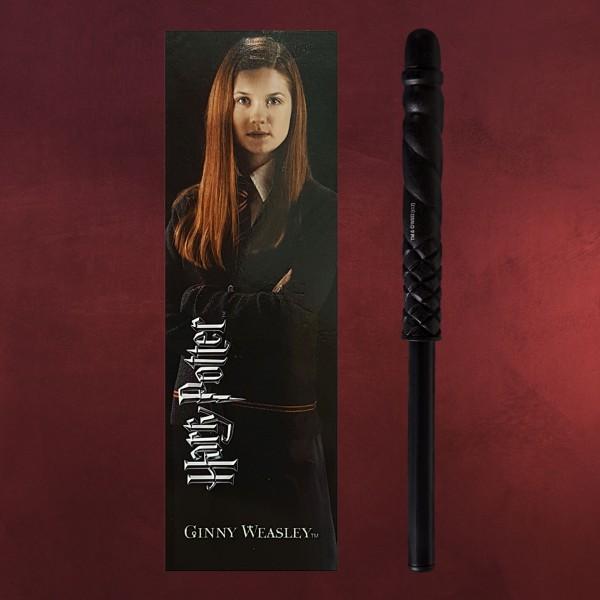 Ginny Weasley Zauberstabstift & Lesezeichen