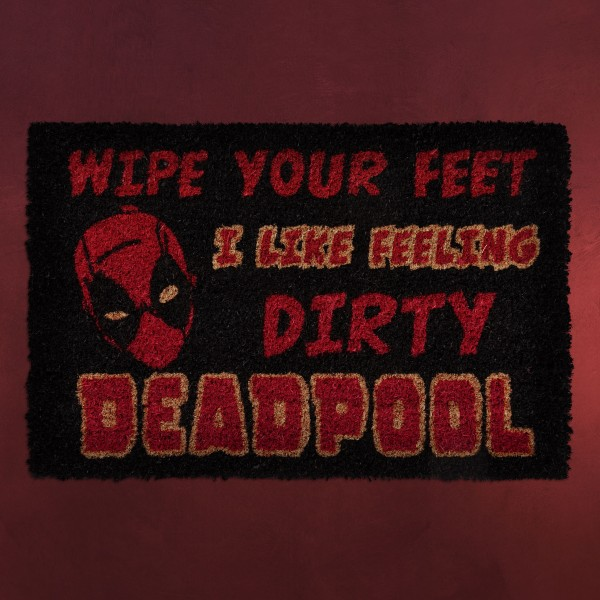Deadpool - I Like Feeling Dirty Fußmatte