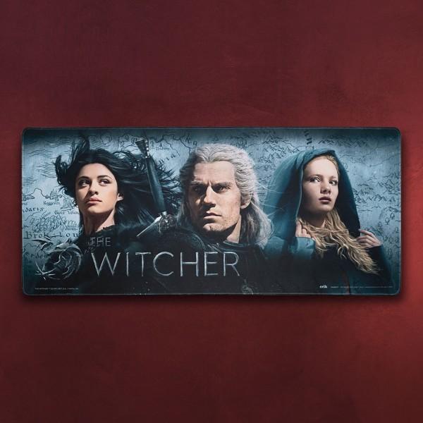 Witcher - Geralt, Ciri und Yennefer Mousepad