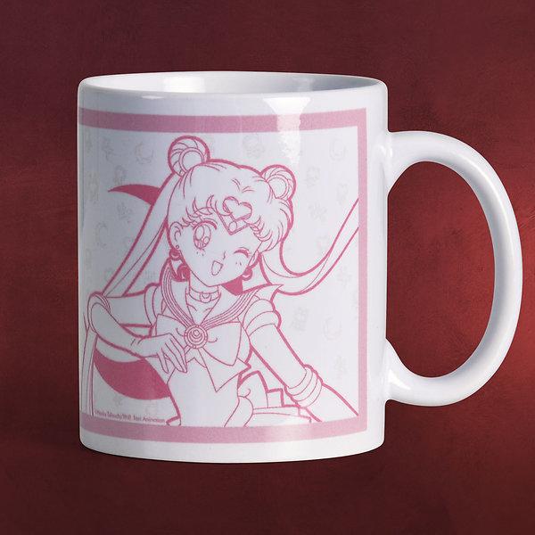 Sailor Moon - Luna & Sailor Moon Tasse