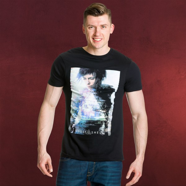 Ghost in the Shell - Major T-Shirt schwarz