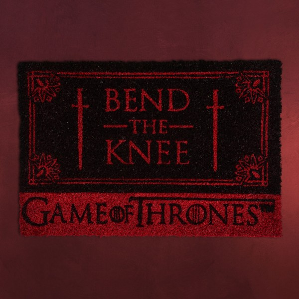 Game of Thrones - Targaryen Bend the Knee Fußmatte