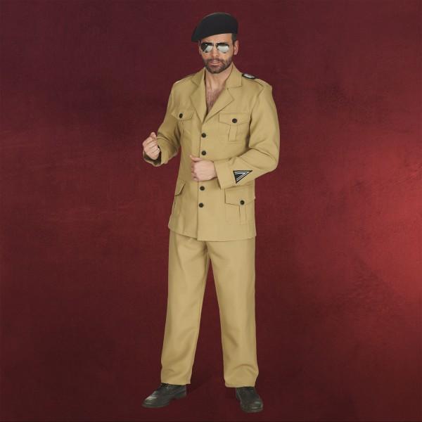 Uniform braun - Kostüm Herren