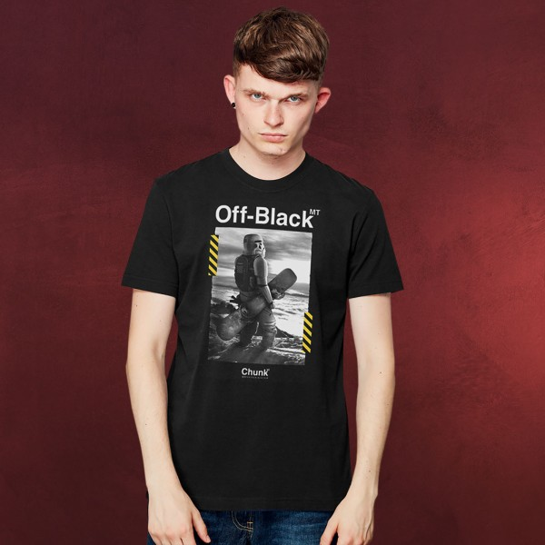 Imperial Snow T-Shirt für Star Wars Fans schwarz