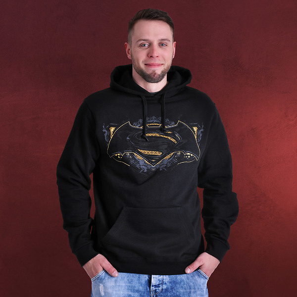 Batman v Superman - Gotham Guardian Hoodie schwarz
