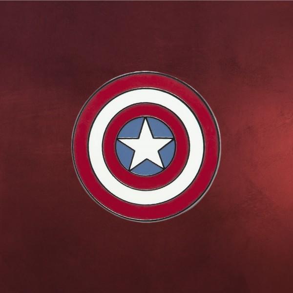 Captain America - Shield Logo Pin