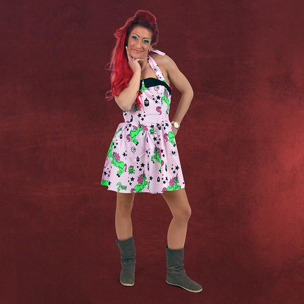 Rockabilly Mini-Kleid I Heart Zombie