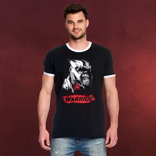 Avengers - Thanos Warrior T-Shirt schwarz