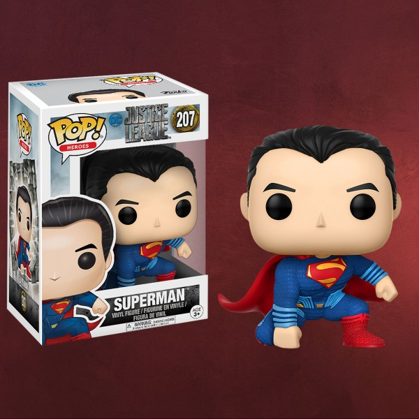 Superman - Justice League Funko Pop Figur