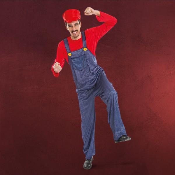 Mario Kostüm für Super Mario Fans