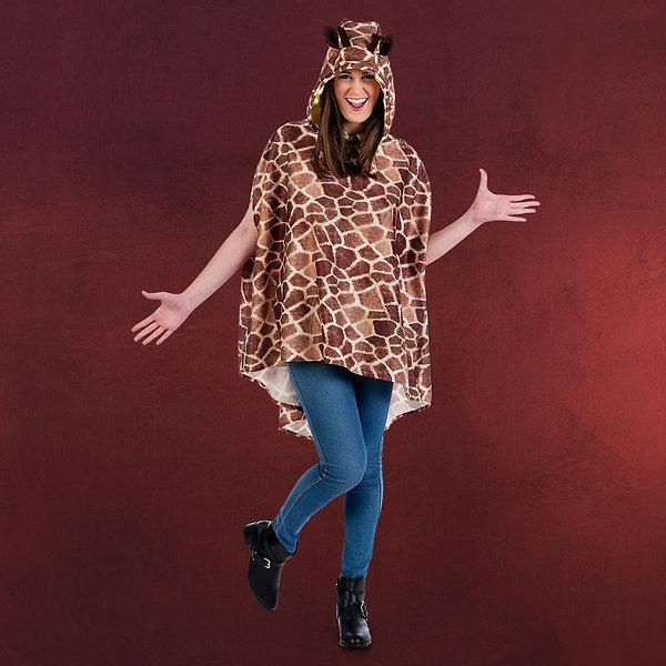 Kostüm Poncho Giraffe