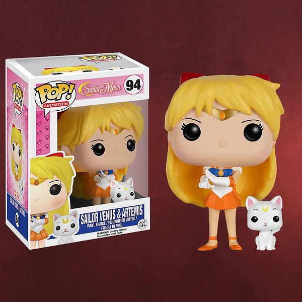 Sailor Moon - Sailor Venus & Artemis Mini-Figur