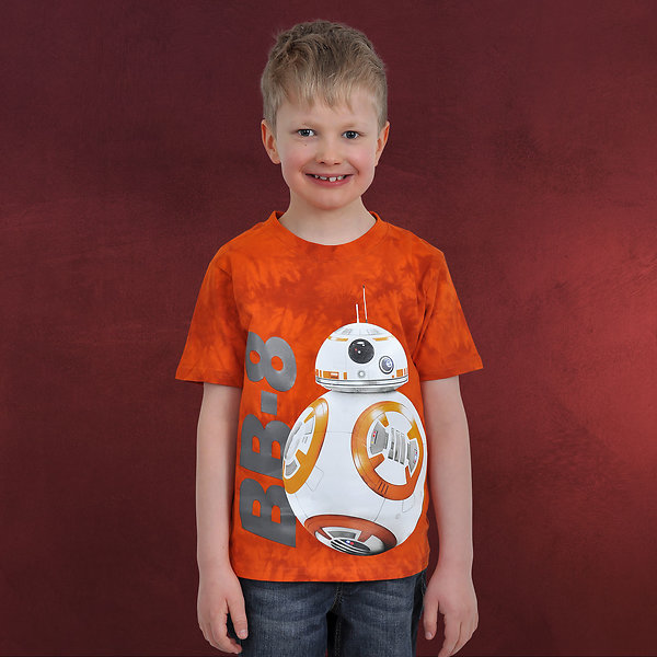 Star Wars - BB-8 T-Shirt Kinder orange