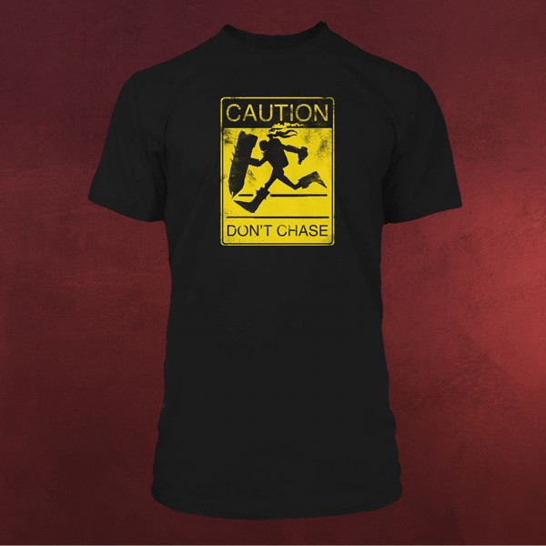 League of Legends - Caution T-Shirt schwarz