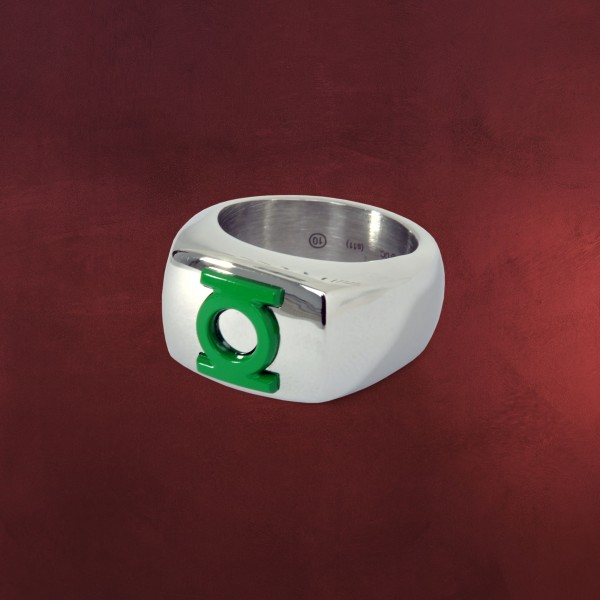 Green Lantern Logo Ring grün