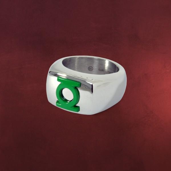 Green Lantern Logo Ring grün