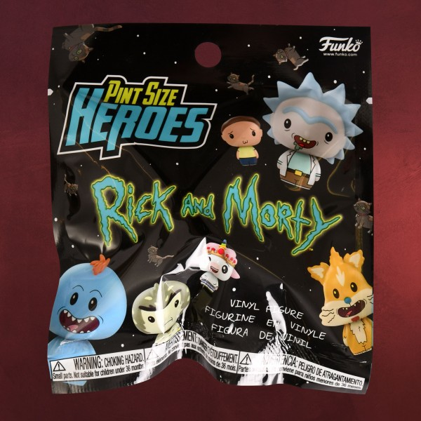 Rick and Morty - Mystery Pint Size Heroes Figur