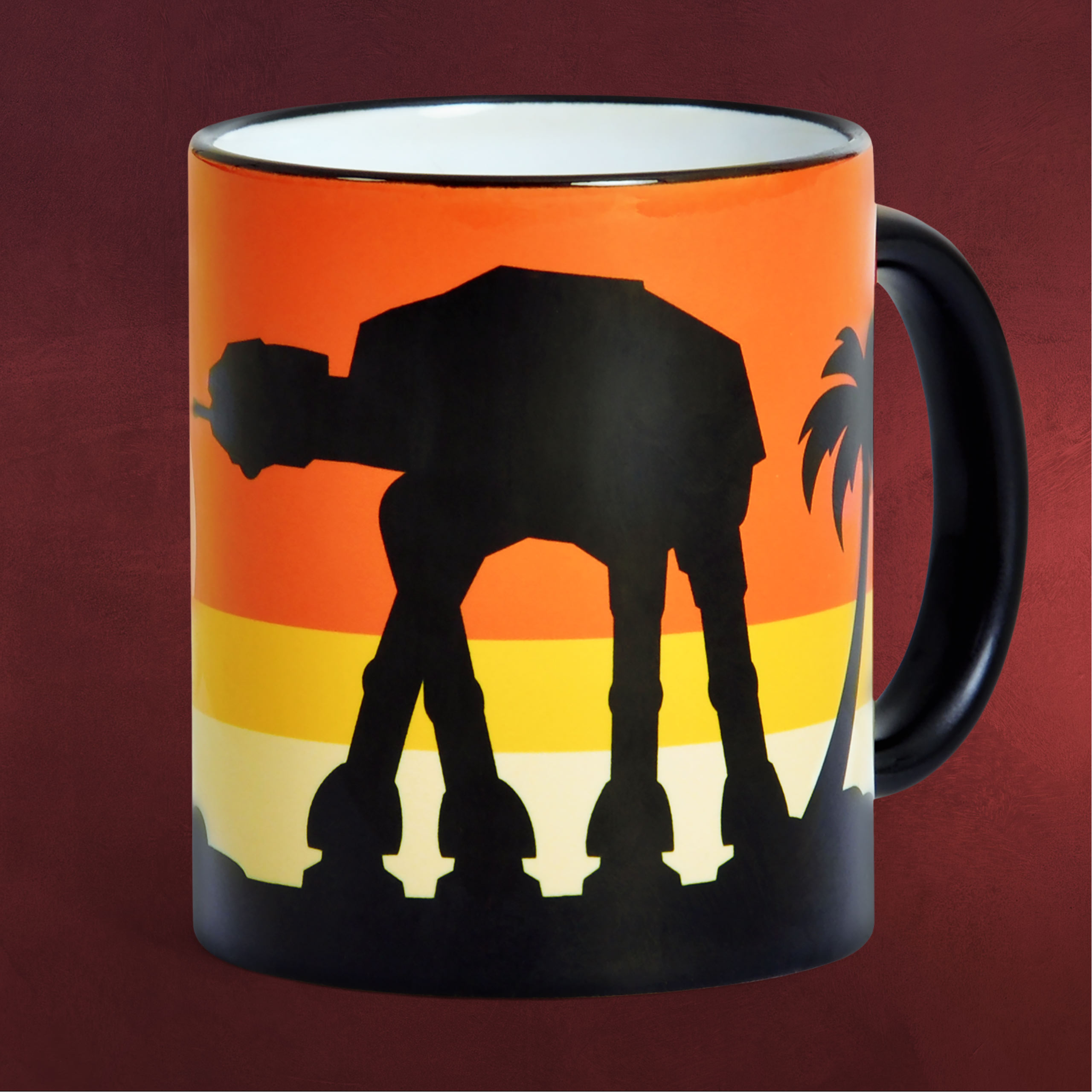 Star Wars AT ACT Sunset Rogue One Tasse