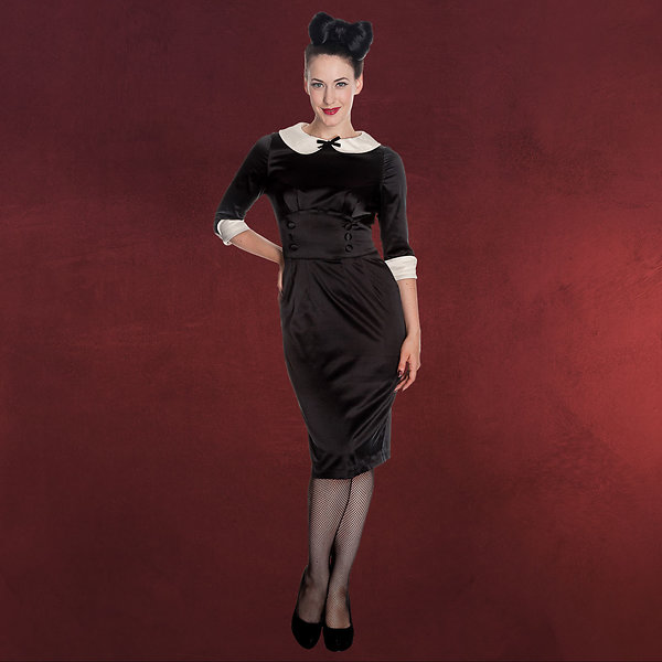 Rockabilly-Kleid Money Penny schwarz