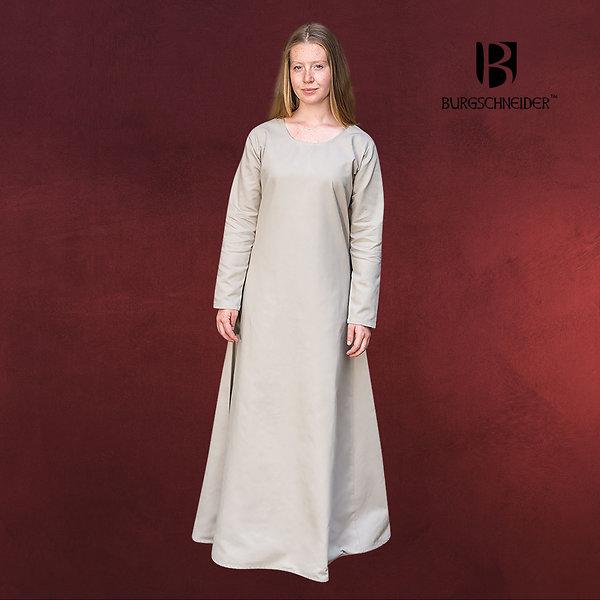 Mittelalter Unterkleid Freya beige