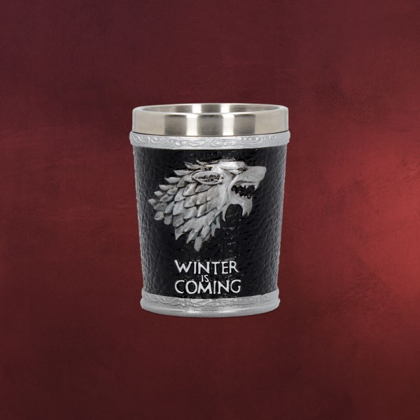 Game of Thrones - House Stark Wappen Shot Glas
