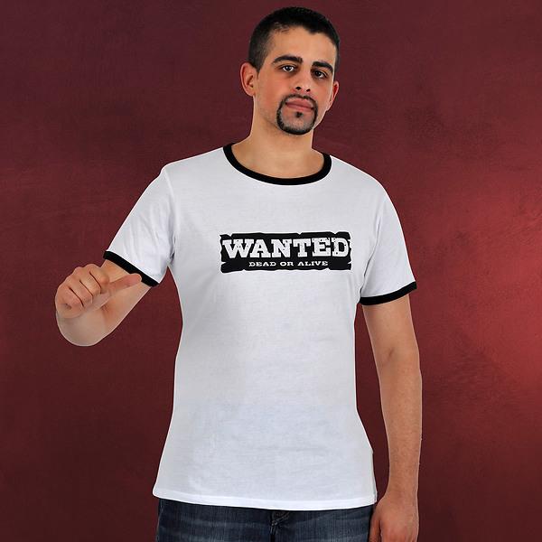 One Piece - Dead Or Alive T-Shirt weiß