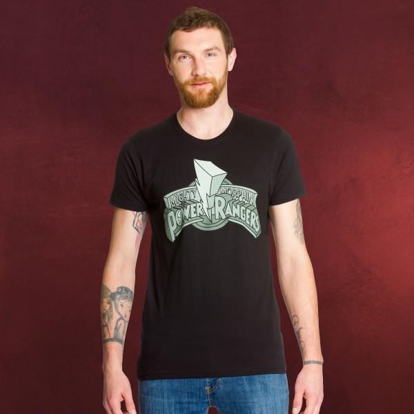 Power Rangers - Mighty Morphin T-Shirt schwarz