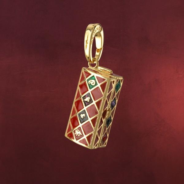 Quidditch Koffer Lumos Charm Anhänger - Harry Potter