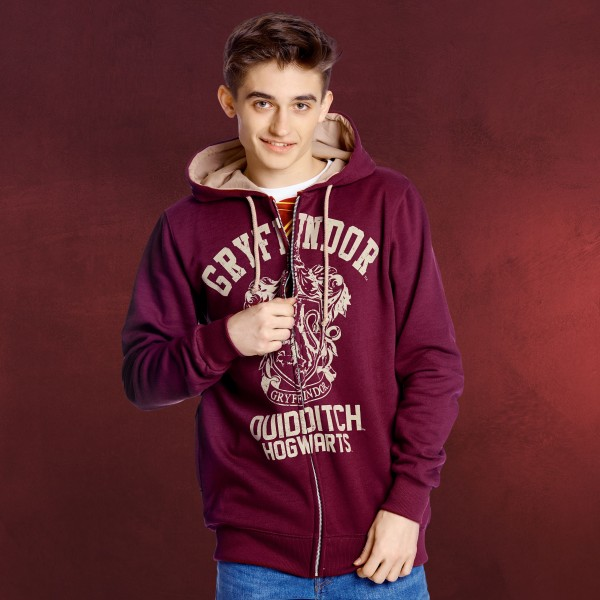 Harry Potter - Gryffindor Quidditch Kapuzenjacke