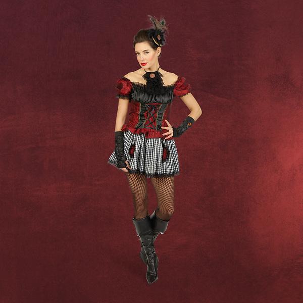 Tanzkleid Victoria - kurzes Cancan Kostüm Damen