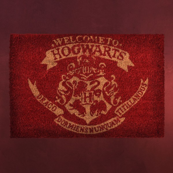 Harry Potter - Hogwarts Wappen Fußmatte