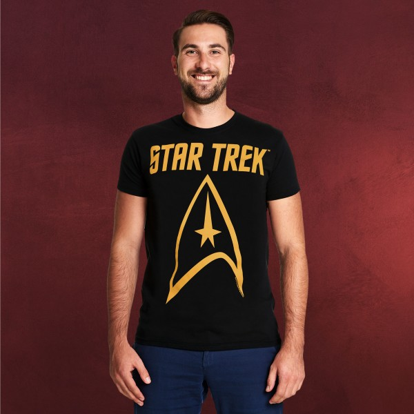 Star Trek - Logo T-Shirt schwarz