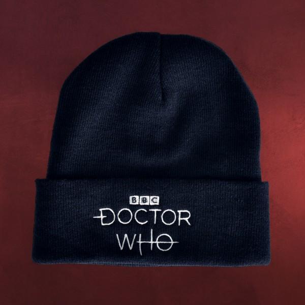 Doctor Who - Logo Mütze