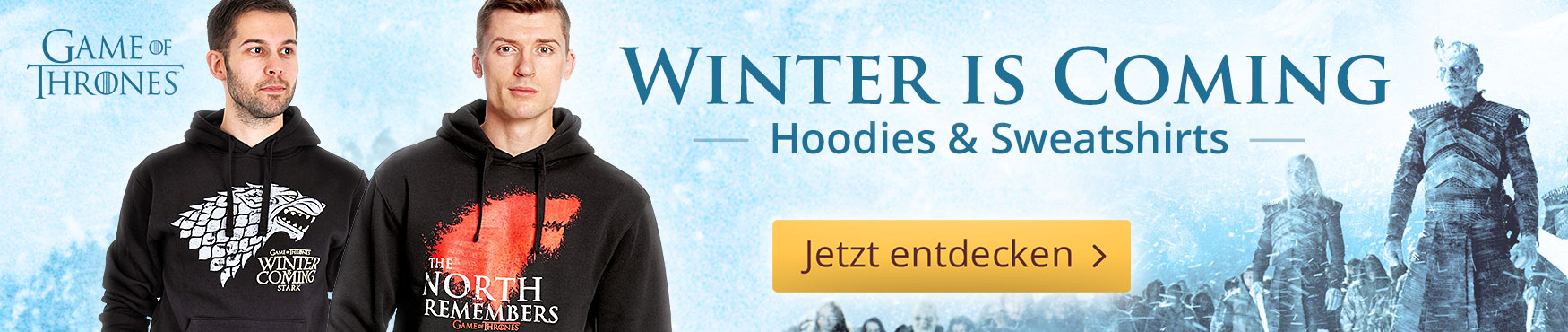 Winter is Coming: Game of Thrones - Hoodies & Sweatshirts
