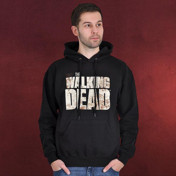 Walking Dead - Logo Hoodie schwarz