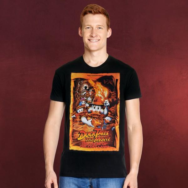 DuckTales - Movie Poster T-Shirt schwarz