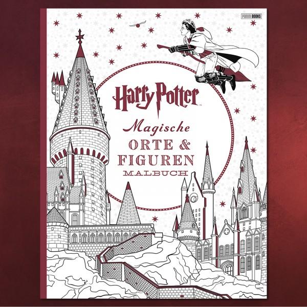 Harry Potter - Magische Orte und Figuren Malbuch | Elbenwald