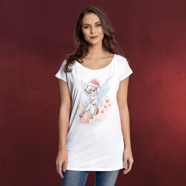 neues Bestseller einkaufen zuverlässige Qualität Tinkerbell - Light The Way T-Shirt Damen Loose Fit weiß