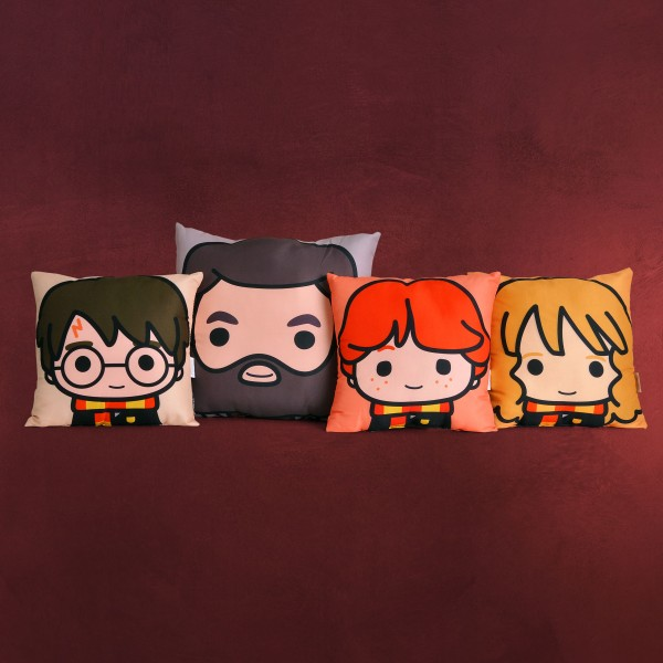 Harry Potter - Harry & Friends Chibi Kissen-Set