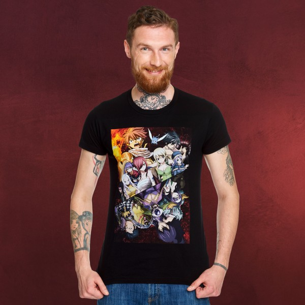 Fairy Tail - Battle of the Guilds T-Shirt schwarz