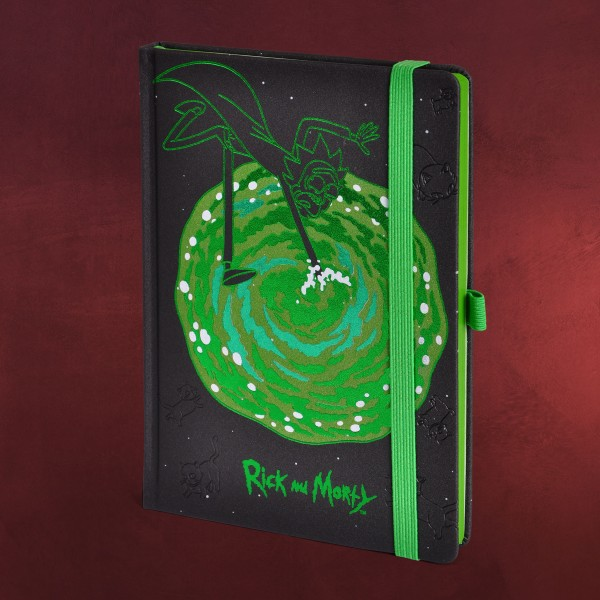 Rick and Morty - Portal Premium Notizbuch A5