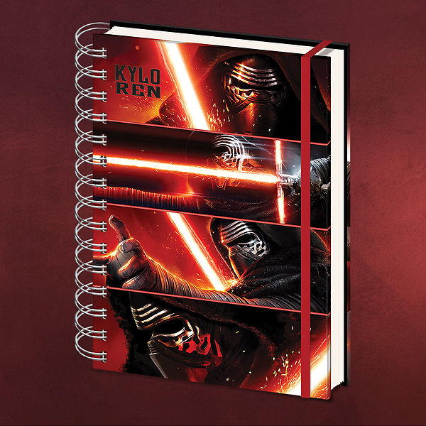 Star Wars - Kylo Ren Notizbuch A4