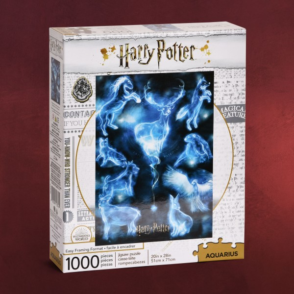 Harry Potter - Patronus Puzzle 1000 Teile