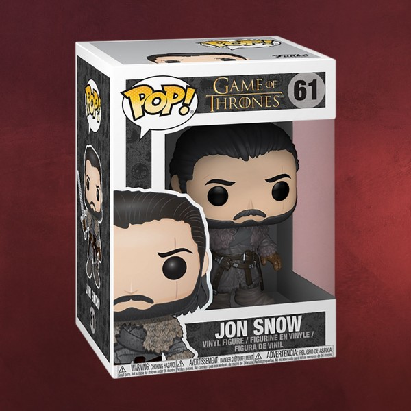Game of Thrones - Jon Snow Beyond the Wall Funko Pop Figur
